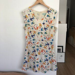 CAMILLA TREE Bird Print Dress
